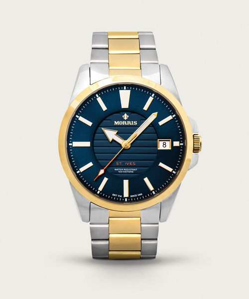 St. Ives Mixed Metal Watch