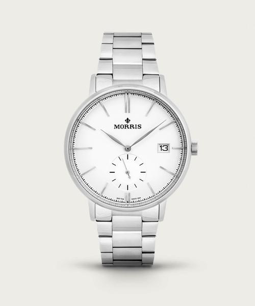 Paul II Silver-Metal Watch