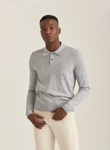 Merino Polo Knit