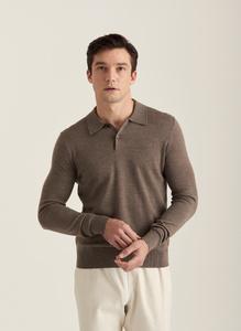 Merino Polo Knit