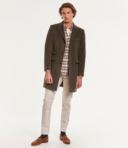 Wesley Wool Cashmere Coat