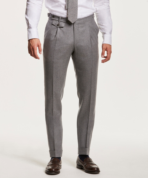 Jason Flannel Suit Trouser