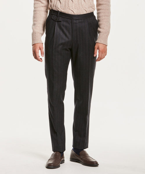 Jason Pinstripe Suit Trouser