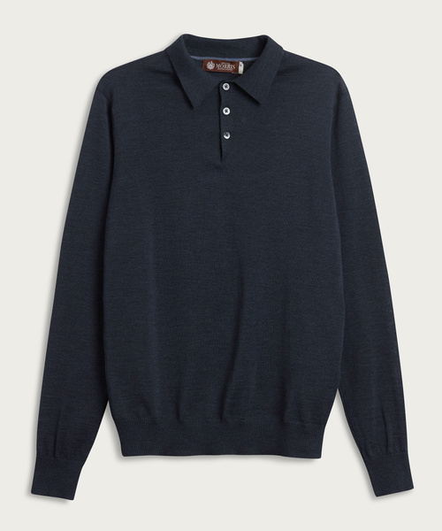 Heritage Knitted Poloshirt