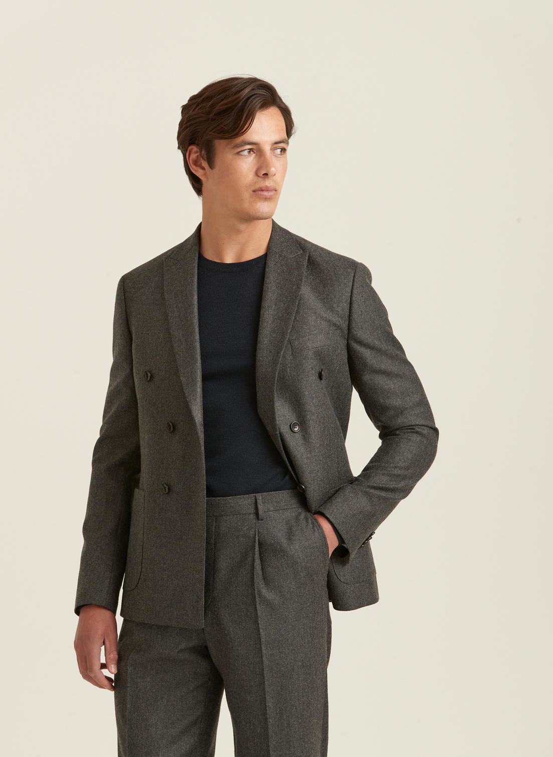 Roger Flannel Suit Blazer