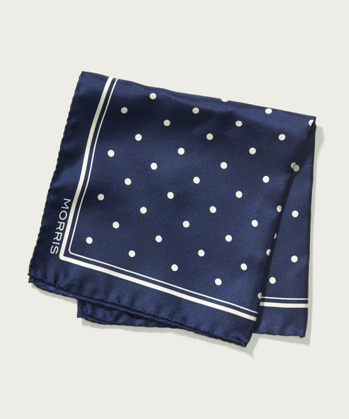 Morris Dot Pocket Square