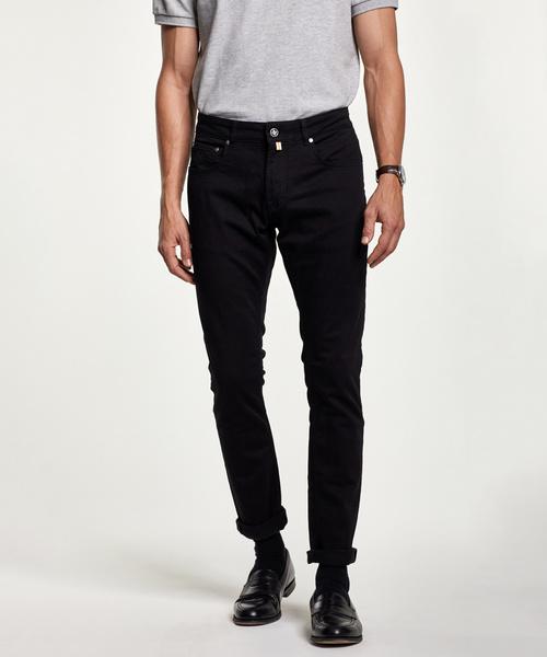 Steve Satin Jeans Zip
