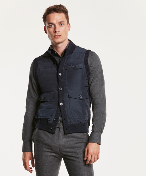 Heritage Knit Quilted Vest